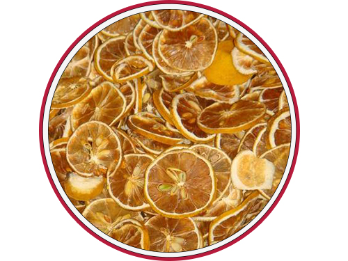 Dried lemon Slace